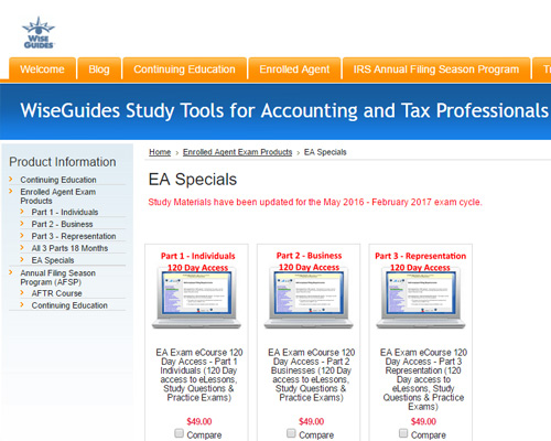 top 5 best ea review courses 2018 promos compared rh theeaguide com enrolled agent study guide 2018 irs enrolled agent study guide 2017